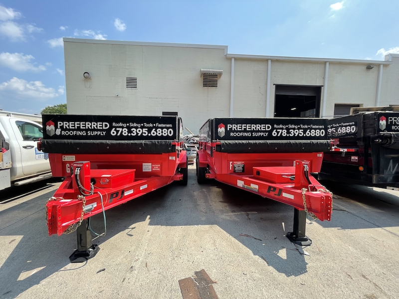 Roofing supplies delivery - Preferred Roofing Supply